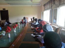 إجتماع نائب الحاكم مع إتحاد نساء السودان الجديد